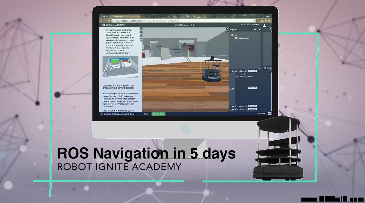 线上学习乐博 Navigation (五天深度学习)