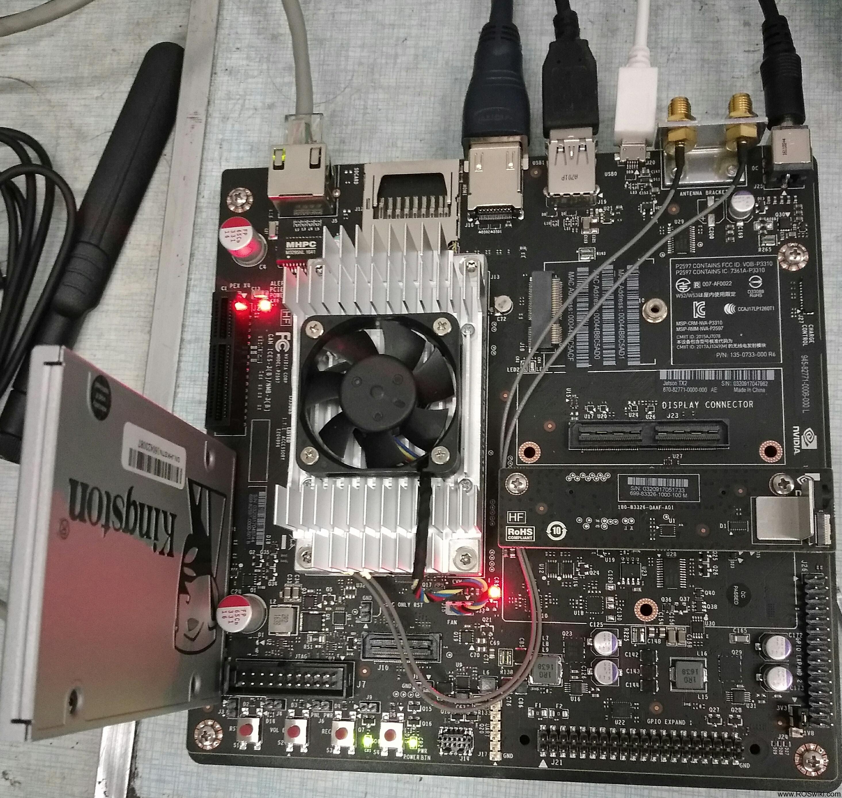 ROS学习1_nvidia Jetson TX2 配置与安装 ROS